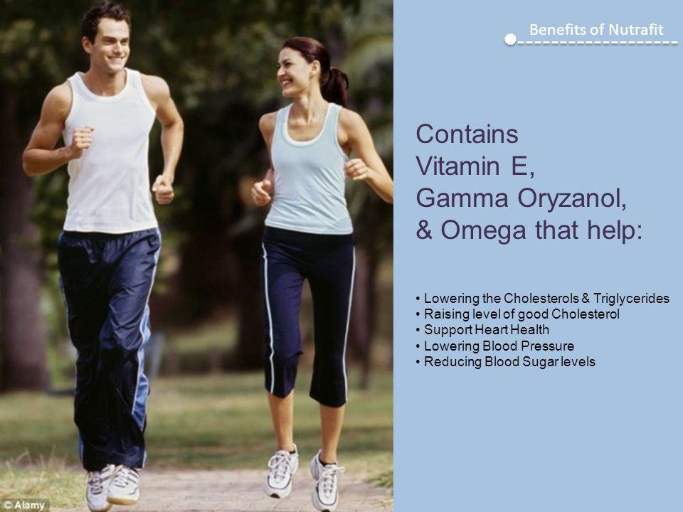 Contains Vitamin E, Gamma Oryzanol, & Omega that help: