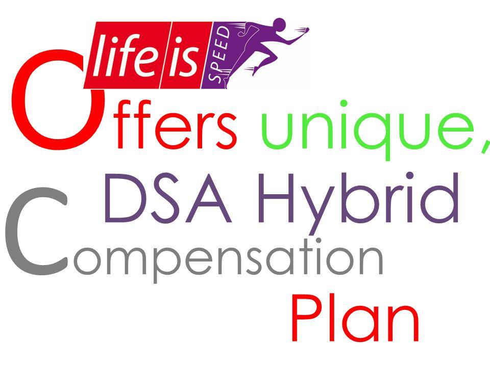 Offers unique, Compensation DSA Hybrid Plan
