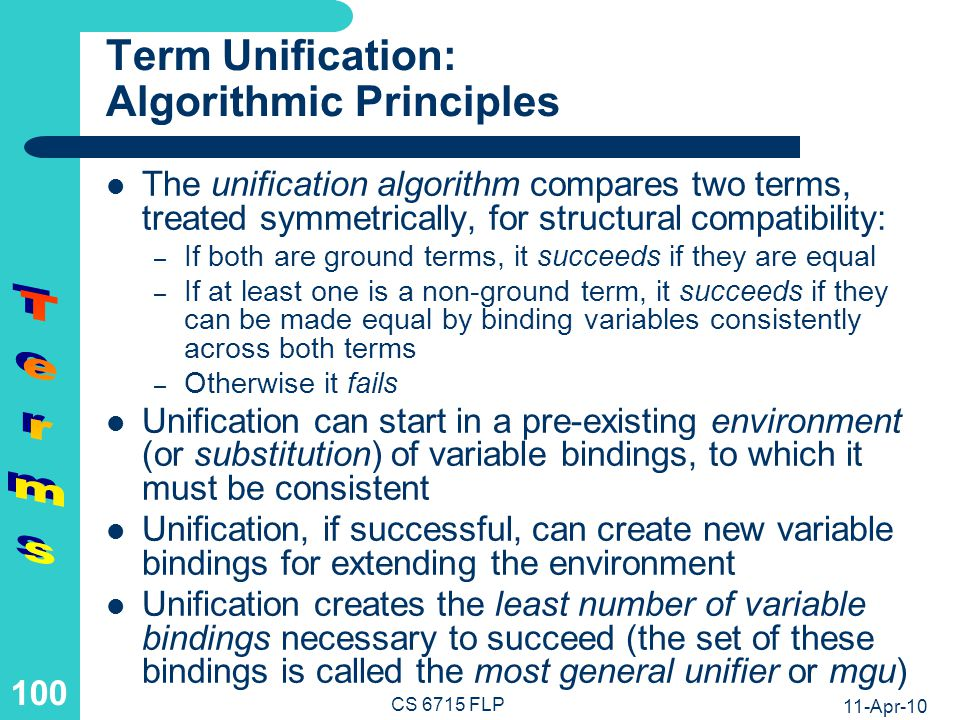 Term Unification: Variable Dereferencing and Case Analysis
