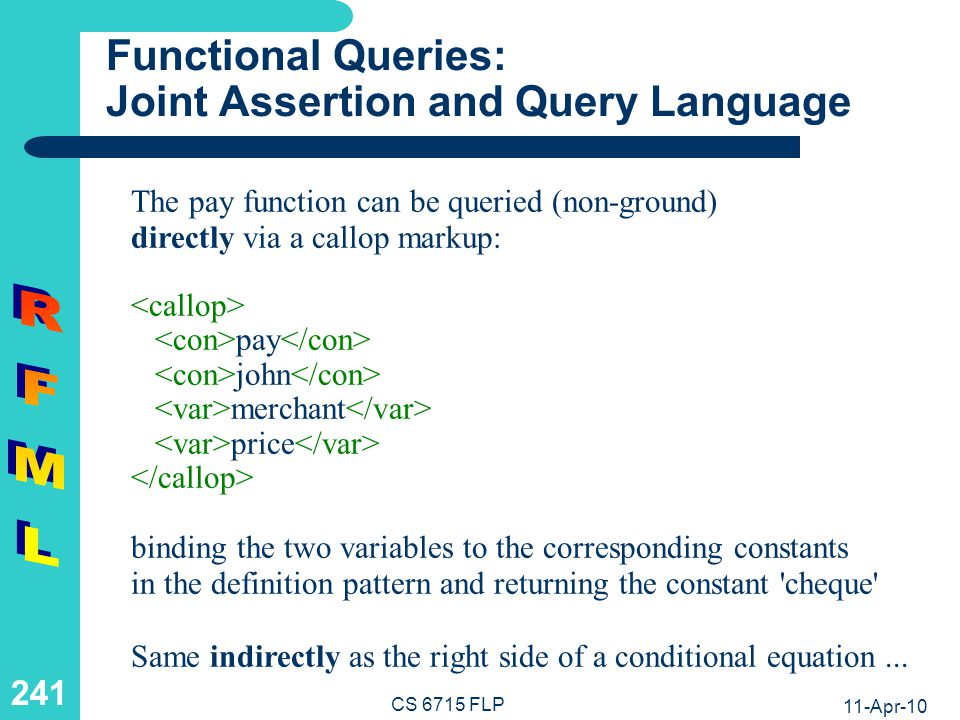 Functional Rules: From Conditional Equations to Relfun