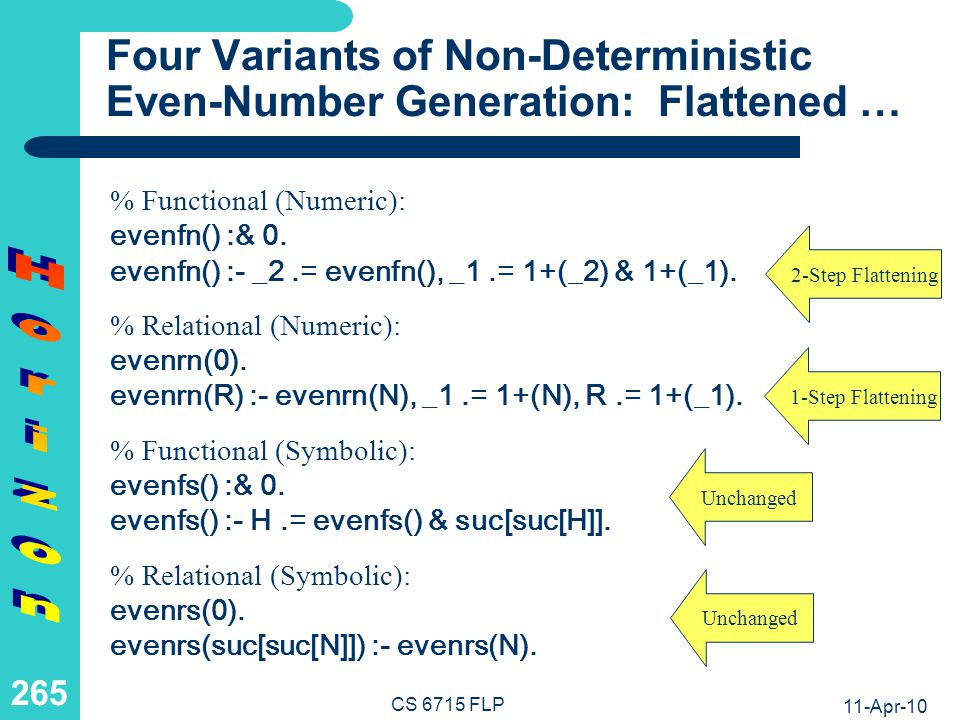Four Variants of Non-Deterministic Even-Number Generation: … + Extrarged