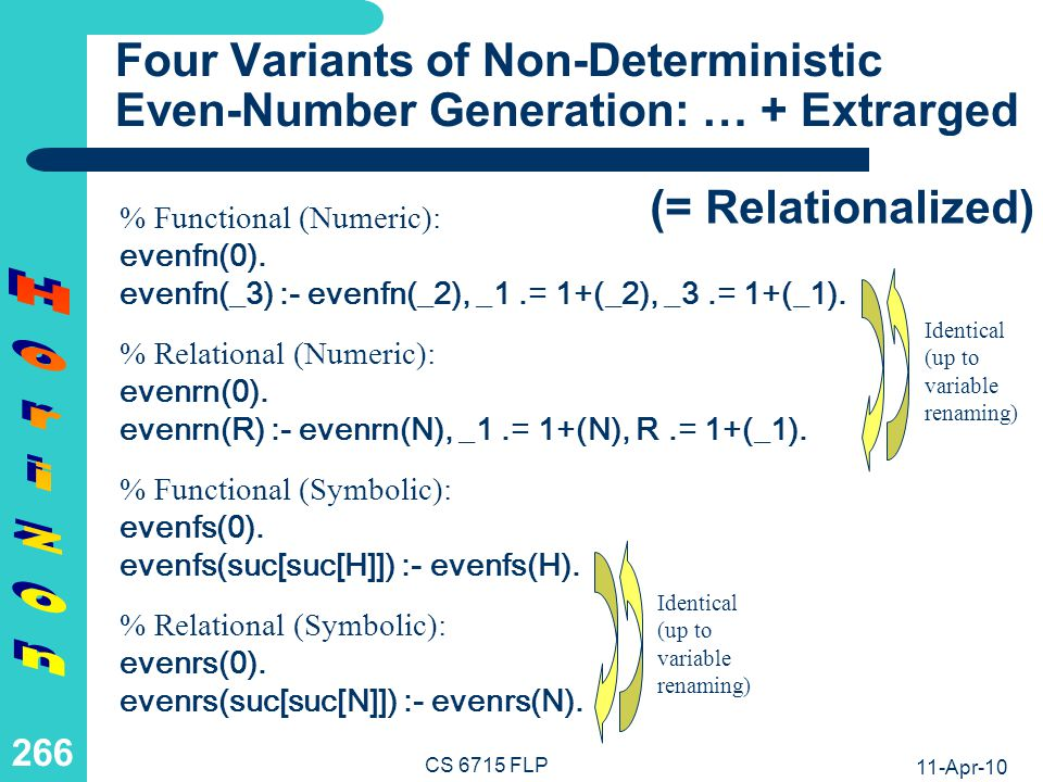 Four Variants of Non-Deterministic Even-Number Generation: Horizoned