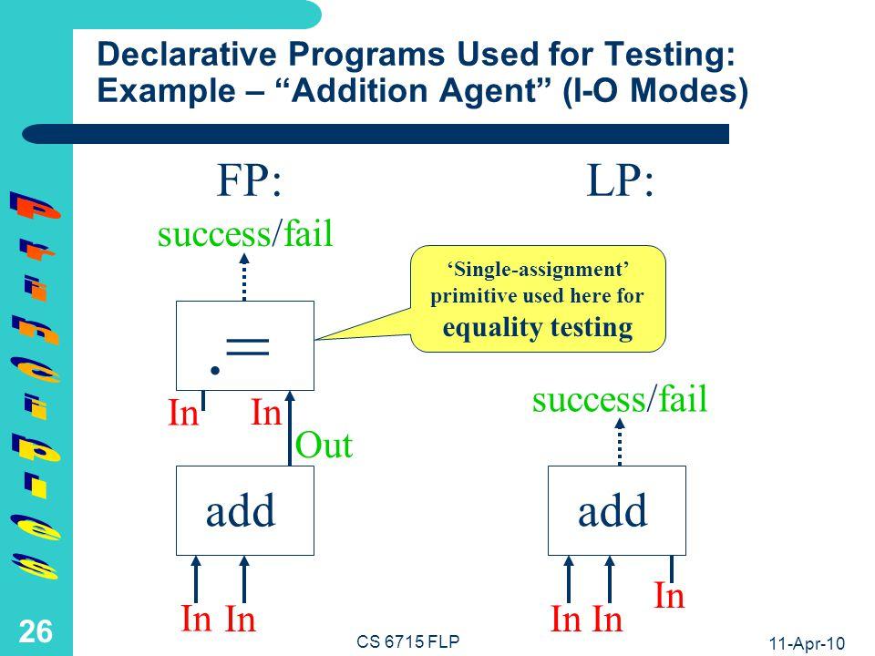 .= FP: LP: add add Principles 5 5 3 4 3 4