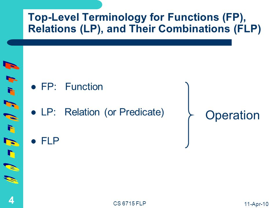 Preview of Foundations of Functional-Logic Programming (FLP)