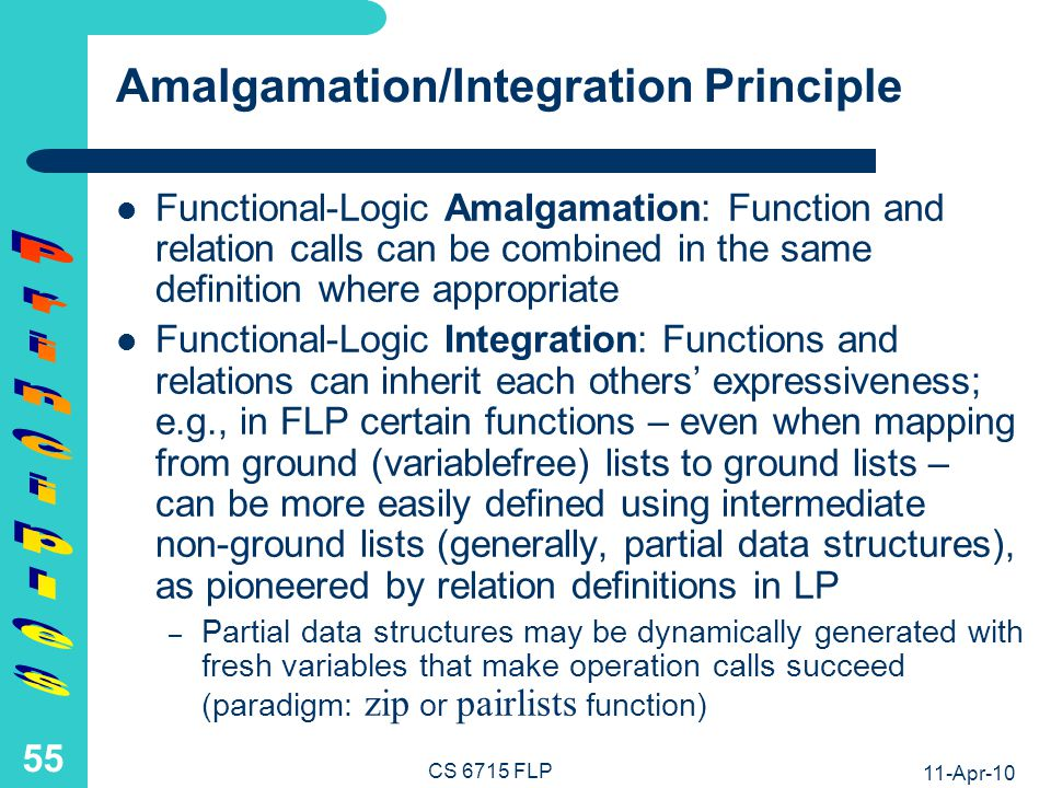 Functional-Relational Call Amalgamation: Quicksort Example