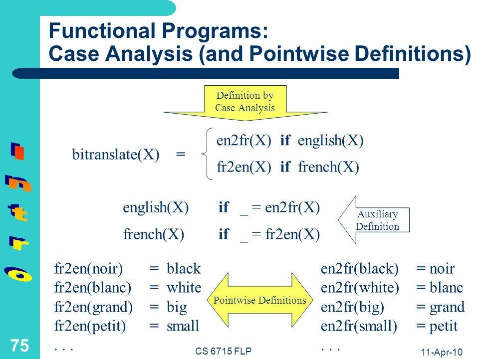 Functional Definition Example: Generic Antonym Agent