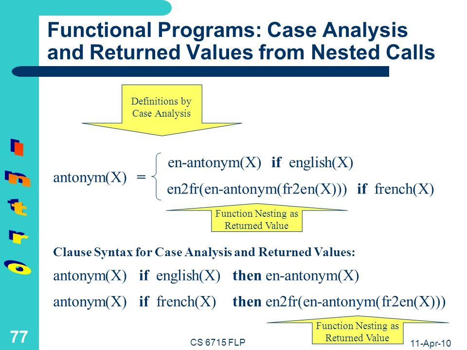 Logic Programs: Basic Notions