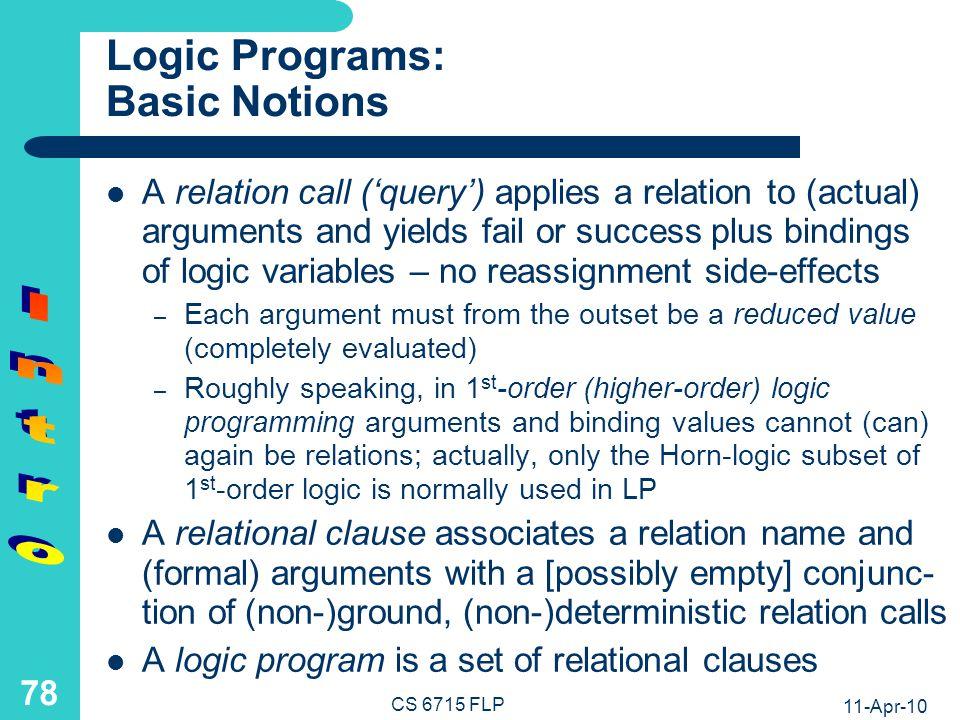 Logic Definition Example: French Antonym Agent