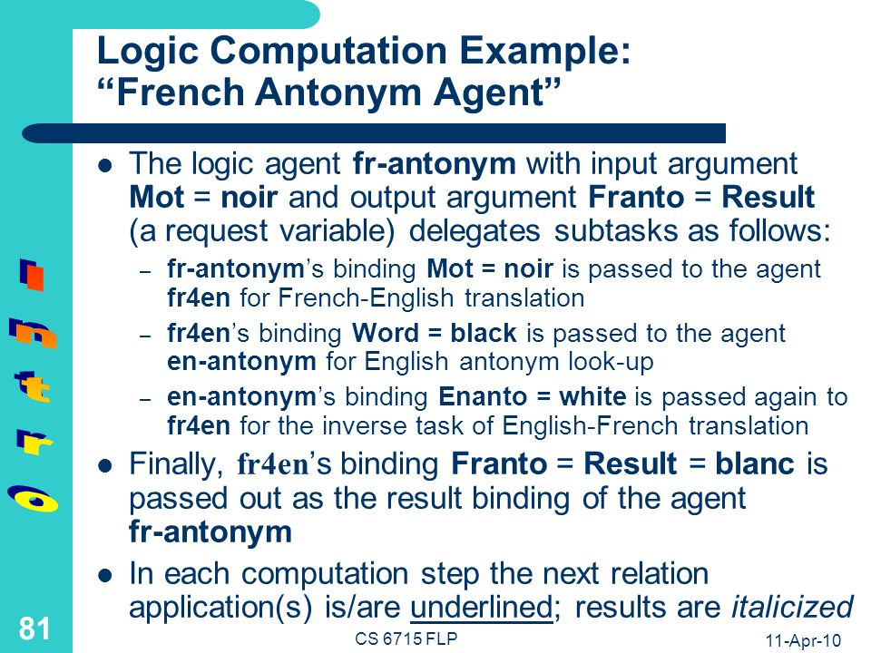 Logic Programs: Left-to-Right Computation of Conjunctions