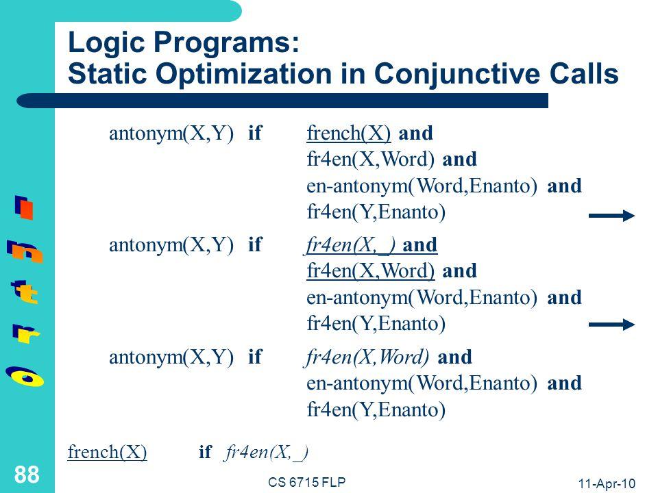 Functional-Logic Programs: Elementary Notions