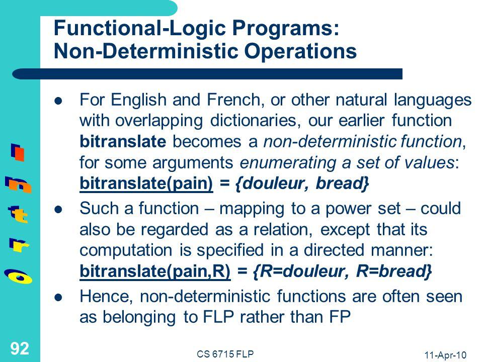 Functional-Logic Programs: Non-Ground Calls