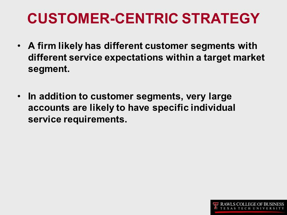 Essay customer centric marketing strategy