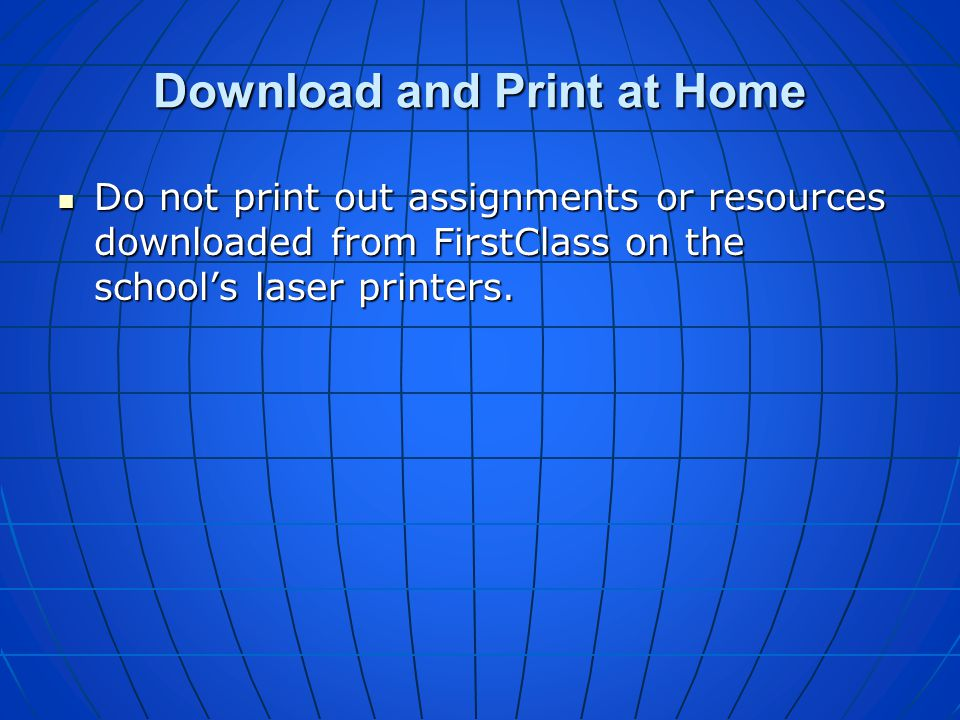 Download and Print at Home