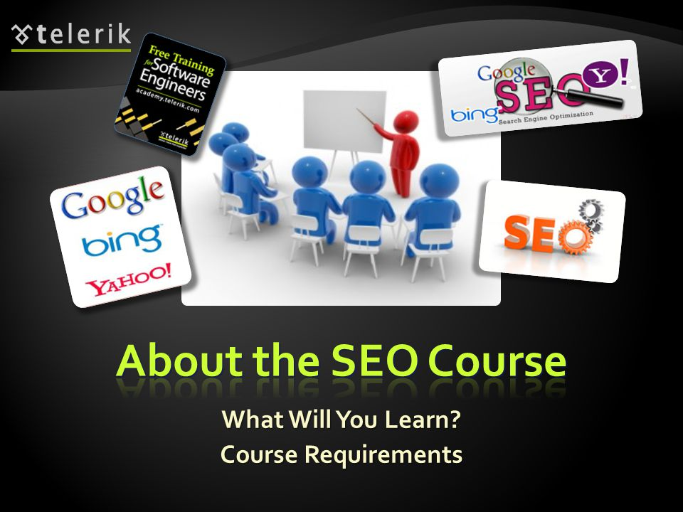 What Will You Learn Course Requirements