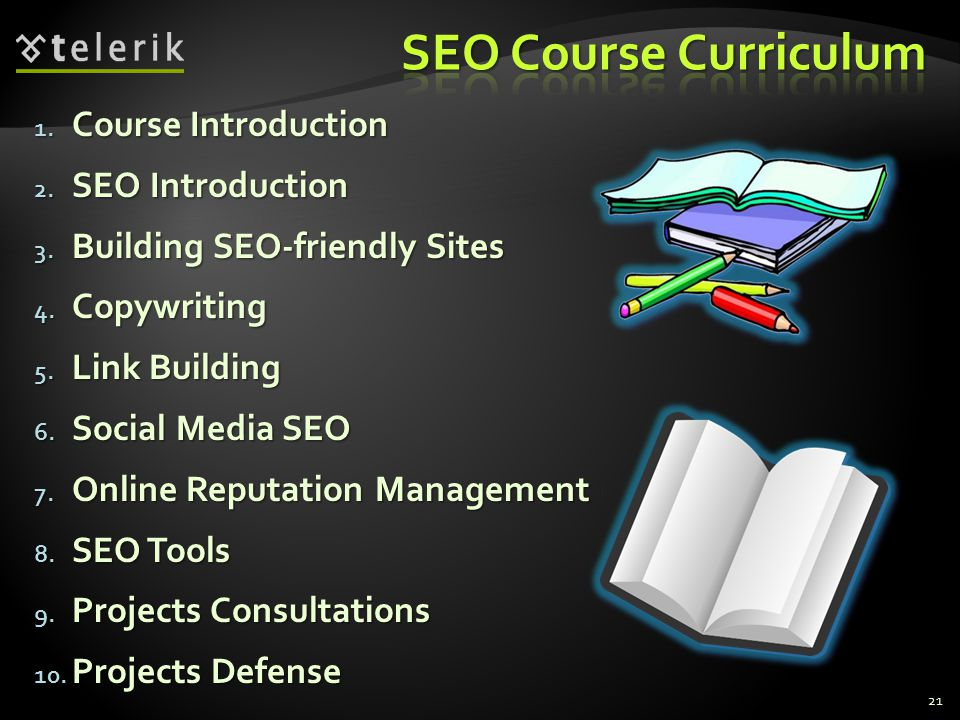 SEO Course Curriculum Course Introduction SEO Introduction