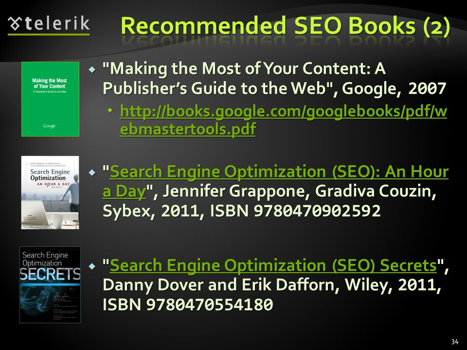 Recommended SEO Books (2)