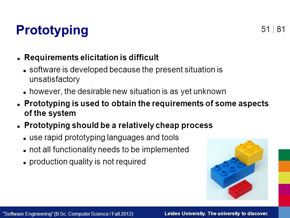 Prototyping Requirements elicitation is difficult