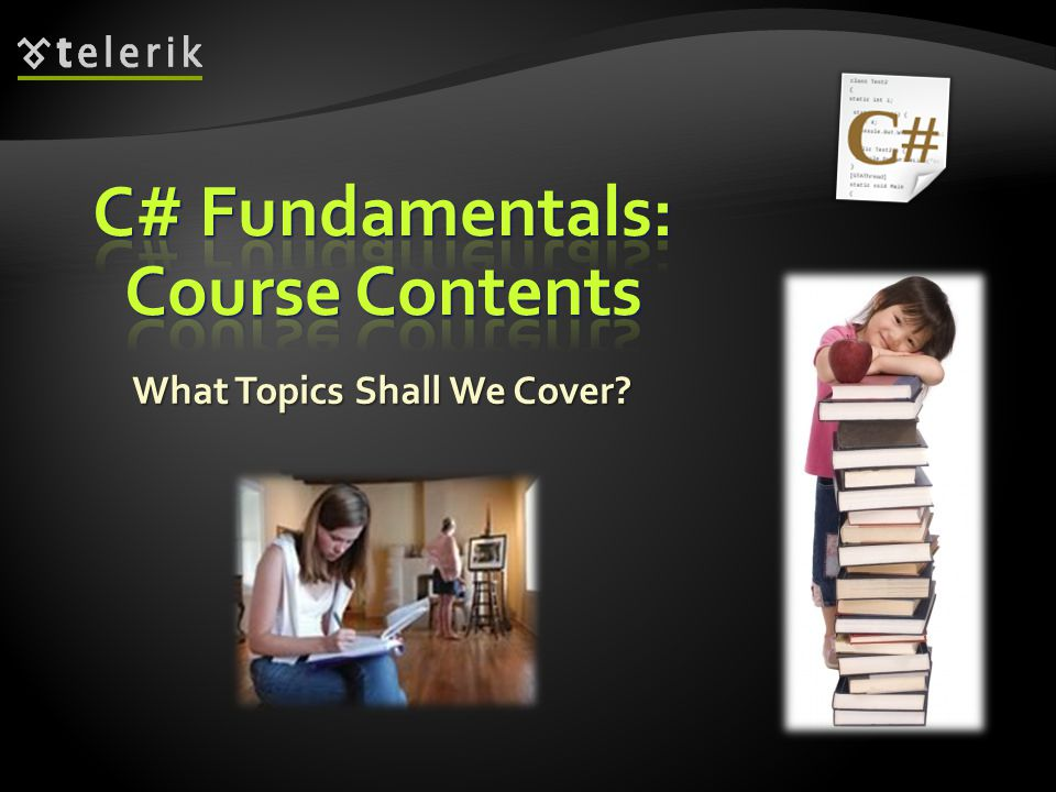 C# Fundamentals: Course Contents