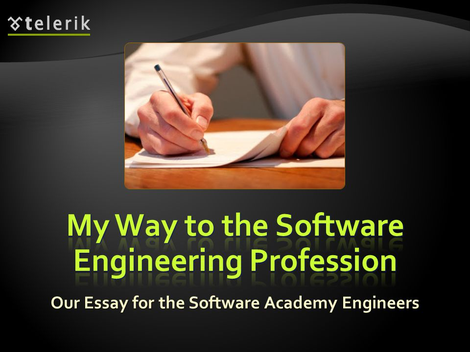My Way to the Software Engineering Profession