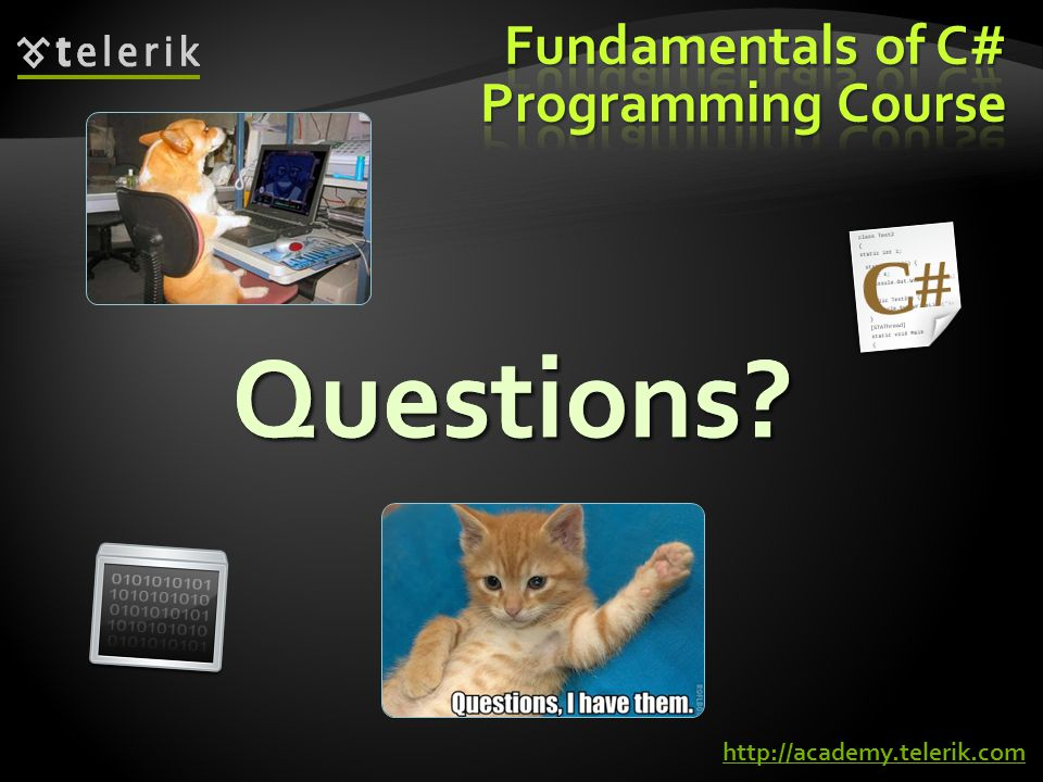 Fundamentals of C# Programming Course
