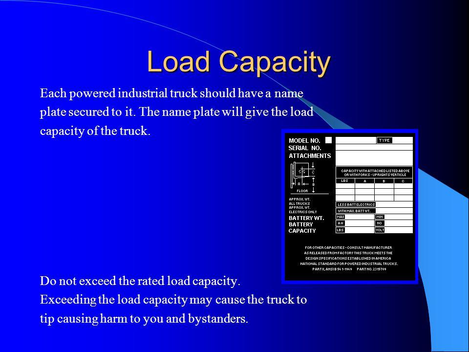 Load Capacity