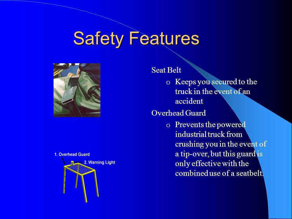 Safety Features Seat Belt