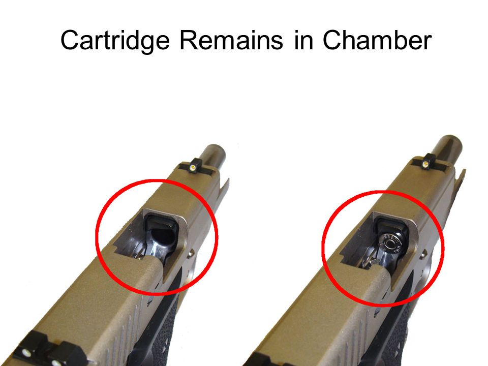 Cartridge Remains in Chamber