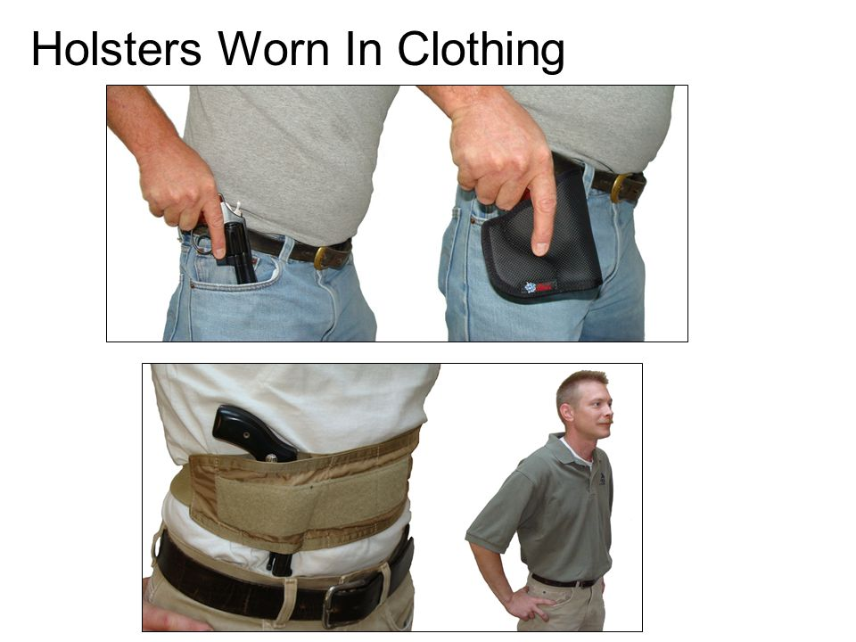 Holsters Worn In Clothing