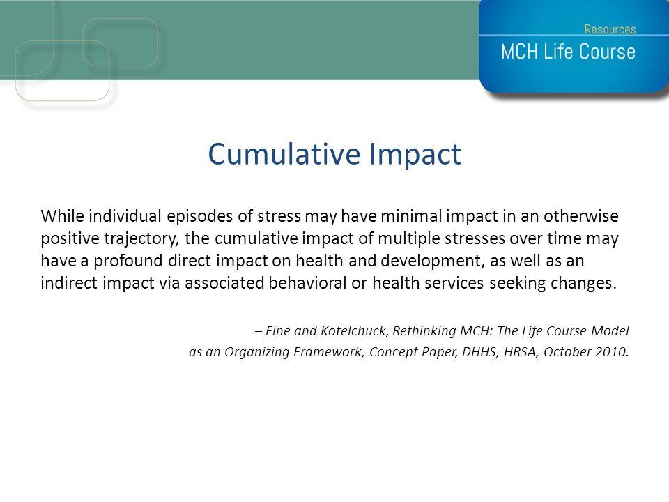 Cumulative Impact
