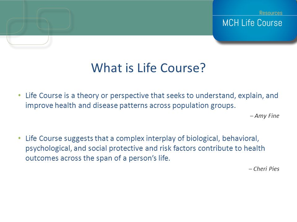 What is Life Course