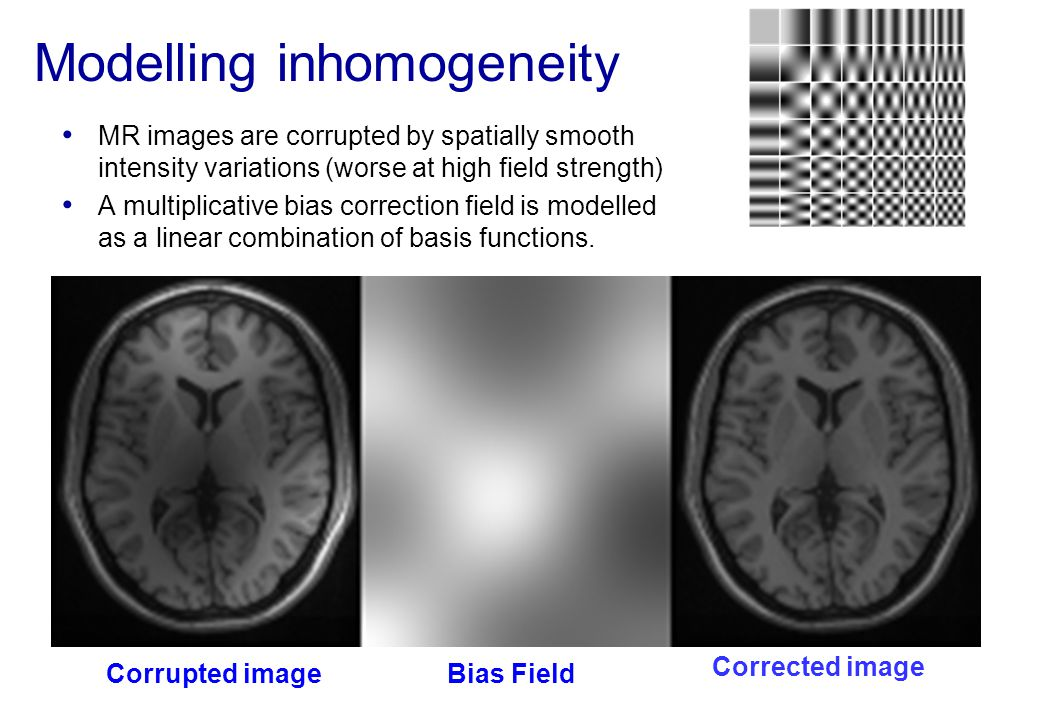 Modelling inhomogeneity