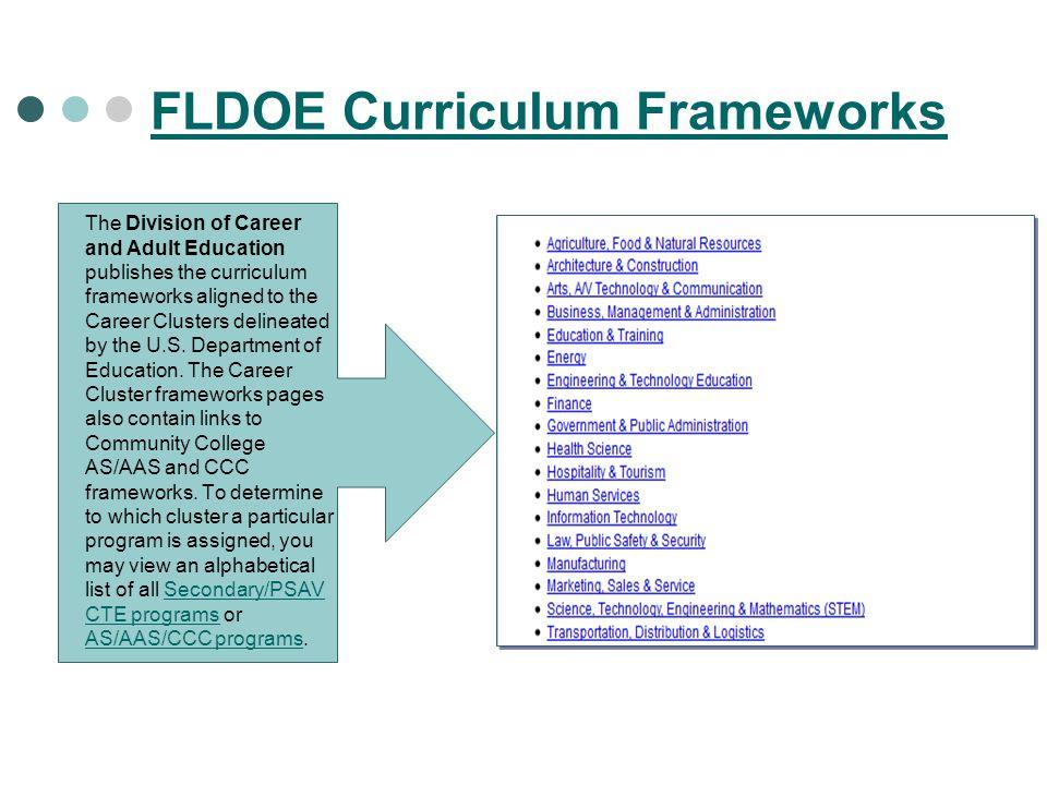 FLDOE Curriculum Frameworks