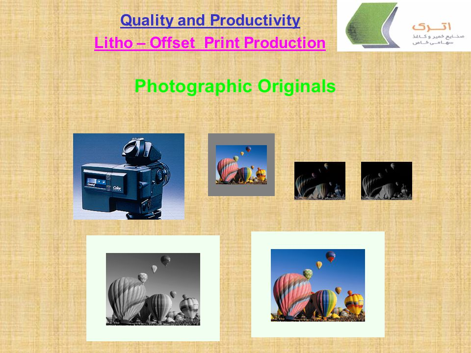 Photographic Originals