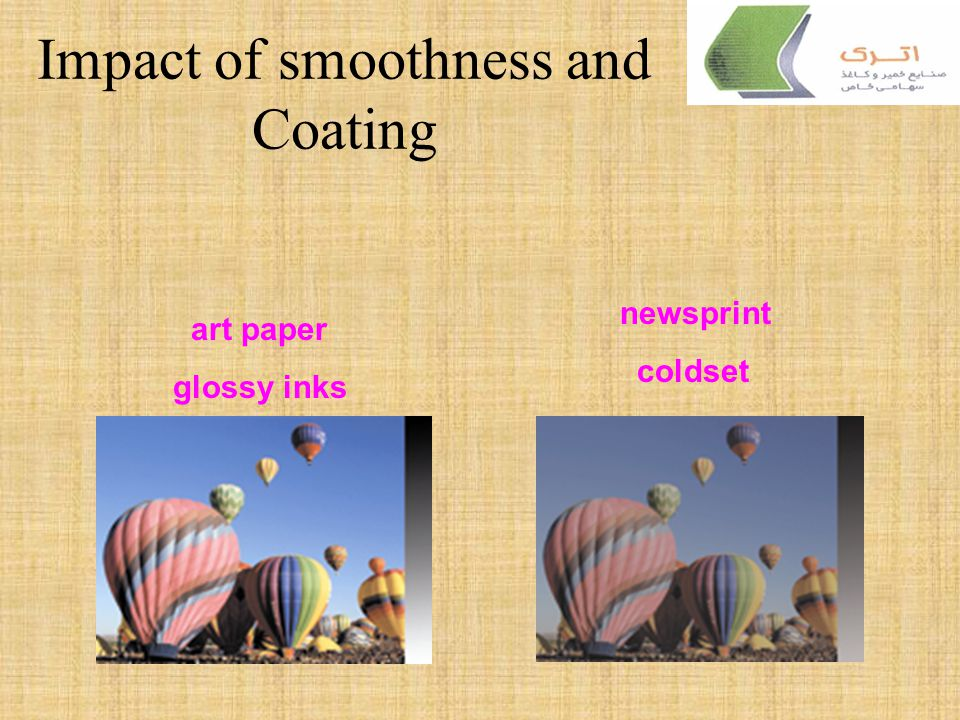 Impact of smoothness and Coating