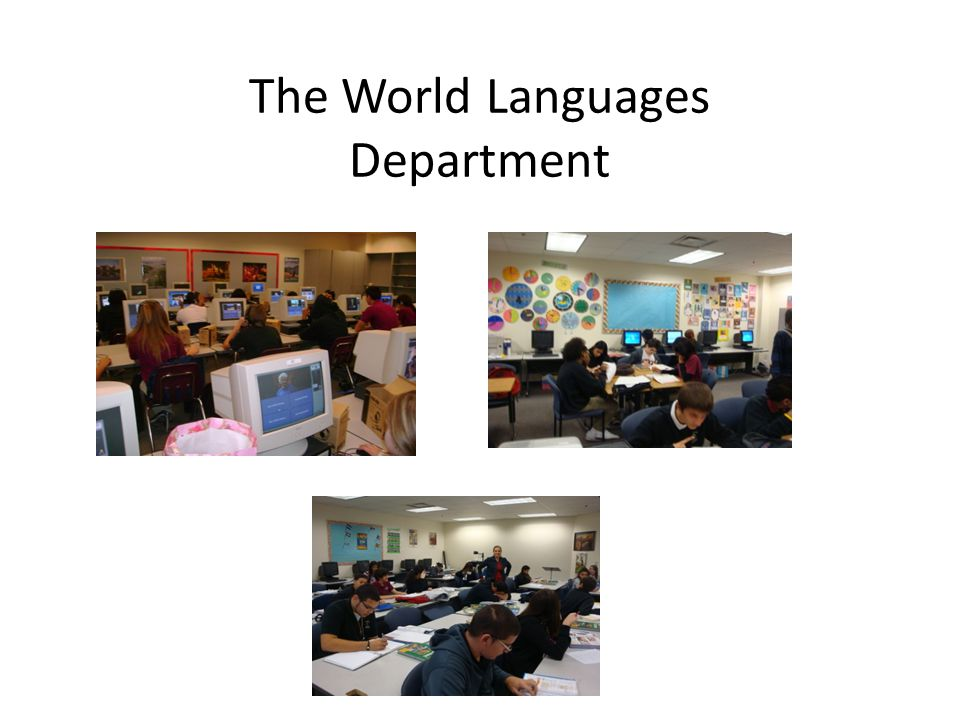 The World Languages Department