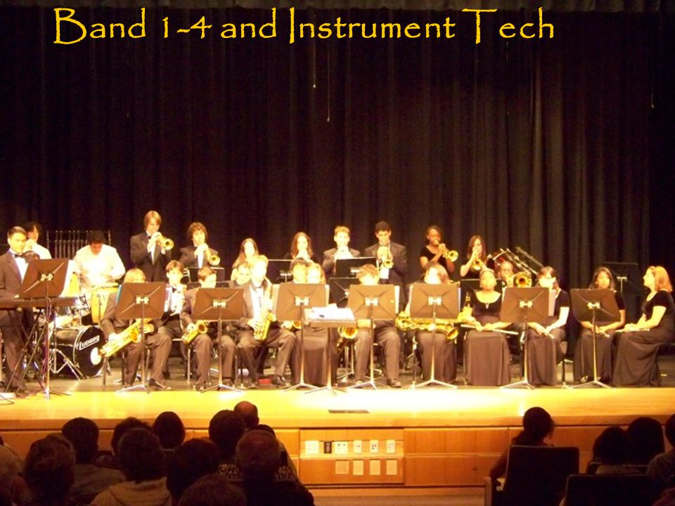 Band 1-4 and Instrument Tech