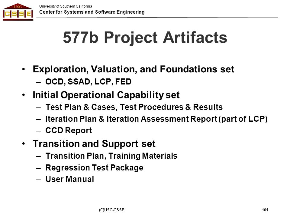 577b Project Artifacts Exploration, Valuation, and Foundations set