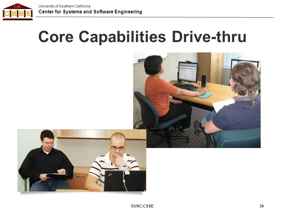 Core Capabilities Drive-thru