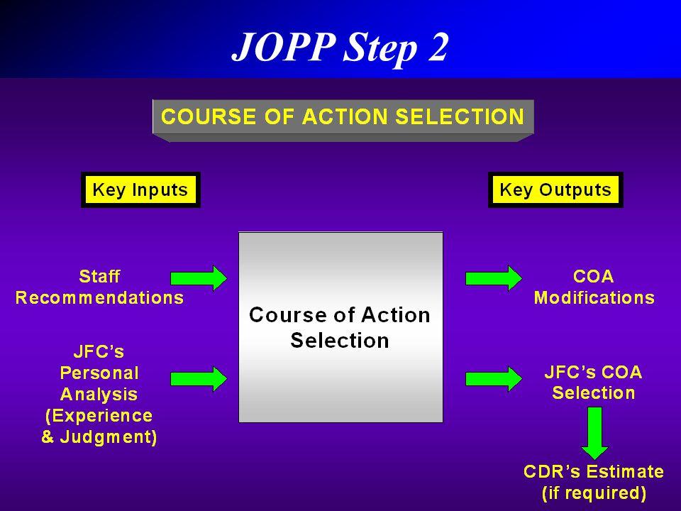 JOPP Step 2