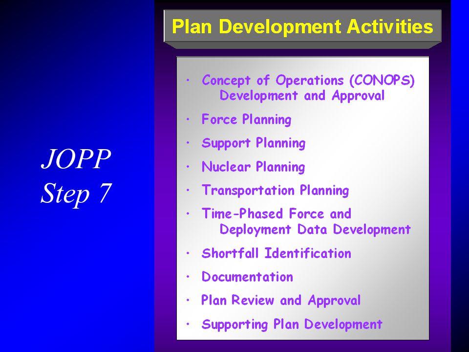 JOPP Step 7.