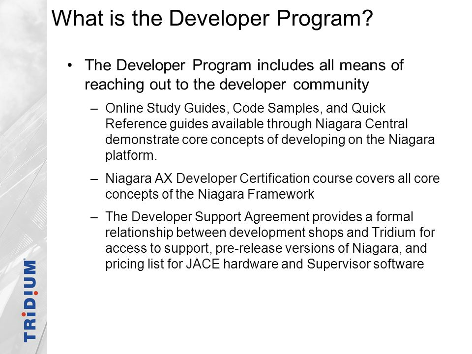 What is the Developer Program