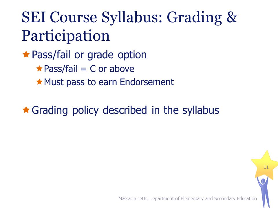 SEI Course Syllabus: Grading & Participation