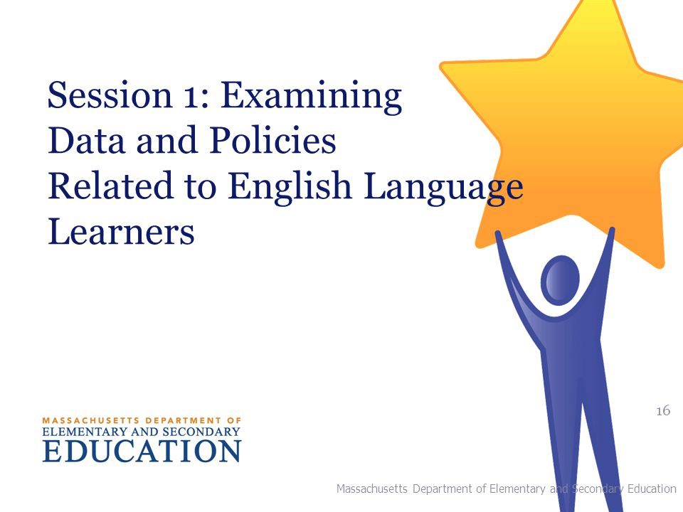 Session 1: Examining Data and Policies Related to English Language Learners