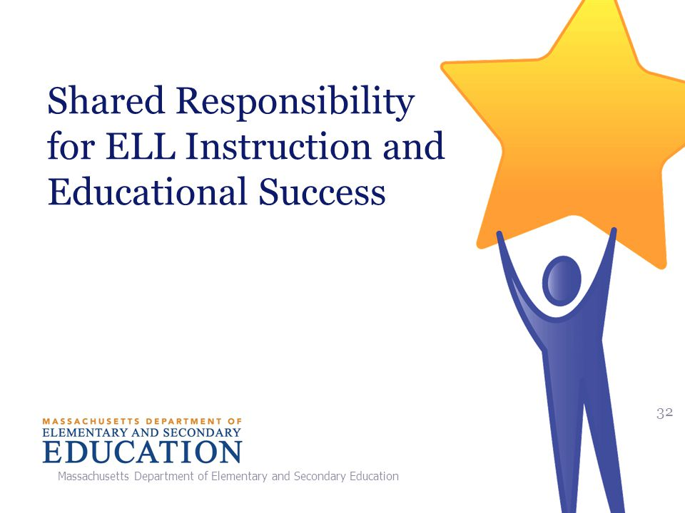 Shared Responsibility for ELL Instruction and Educational Success
