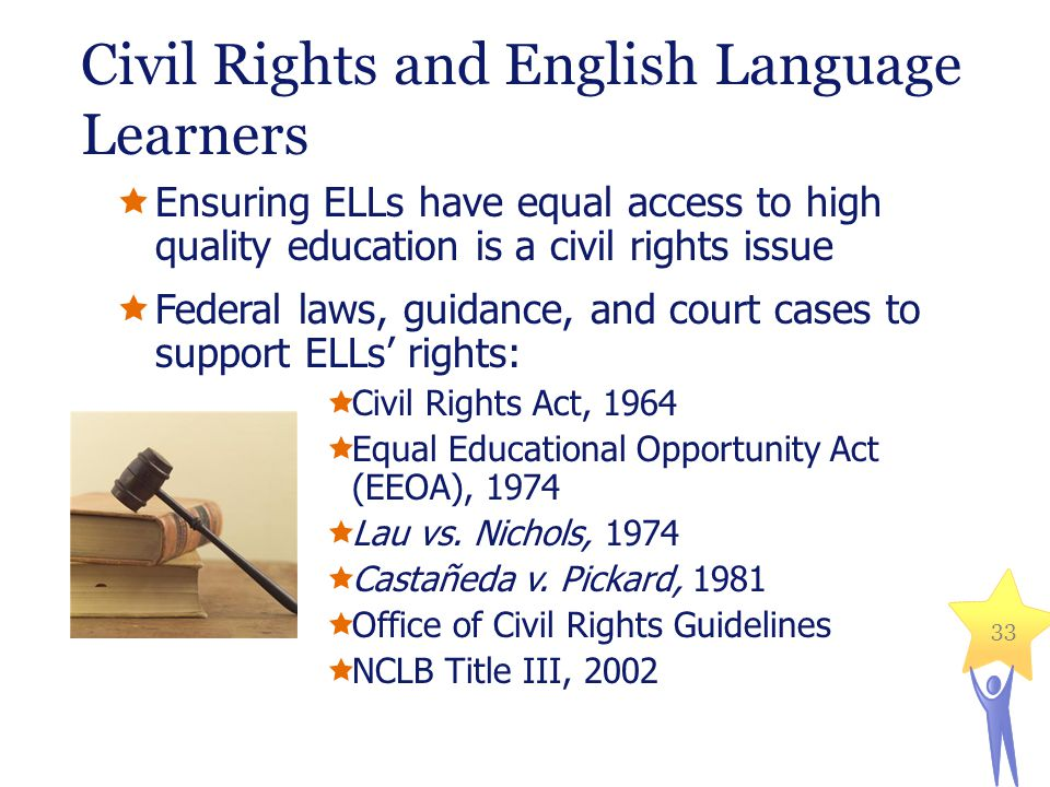 Civil Rights and English Language Learners