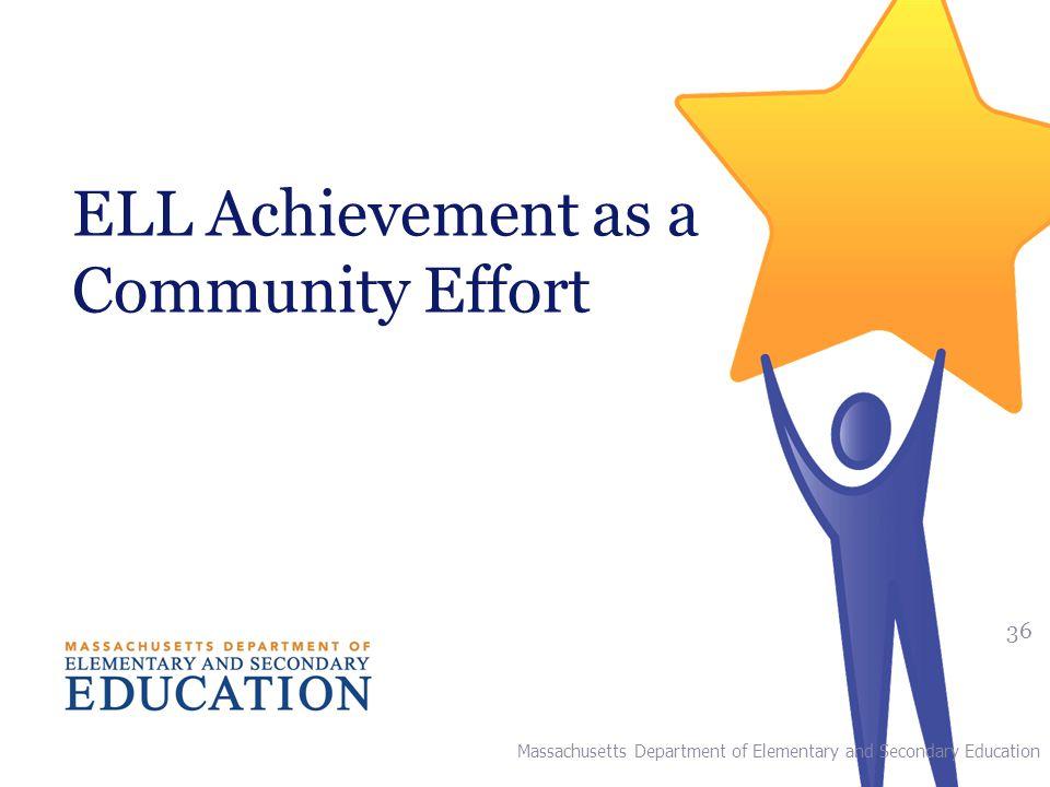 ELL Achievement as a Community Effort