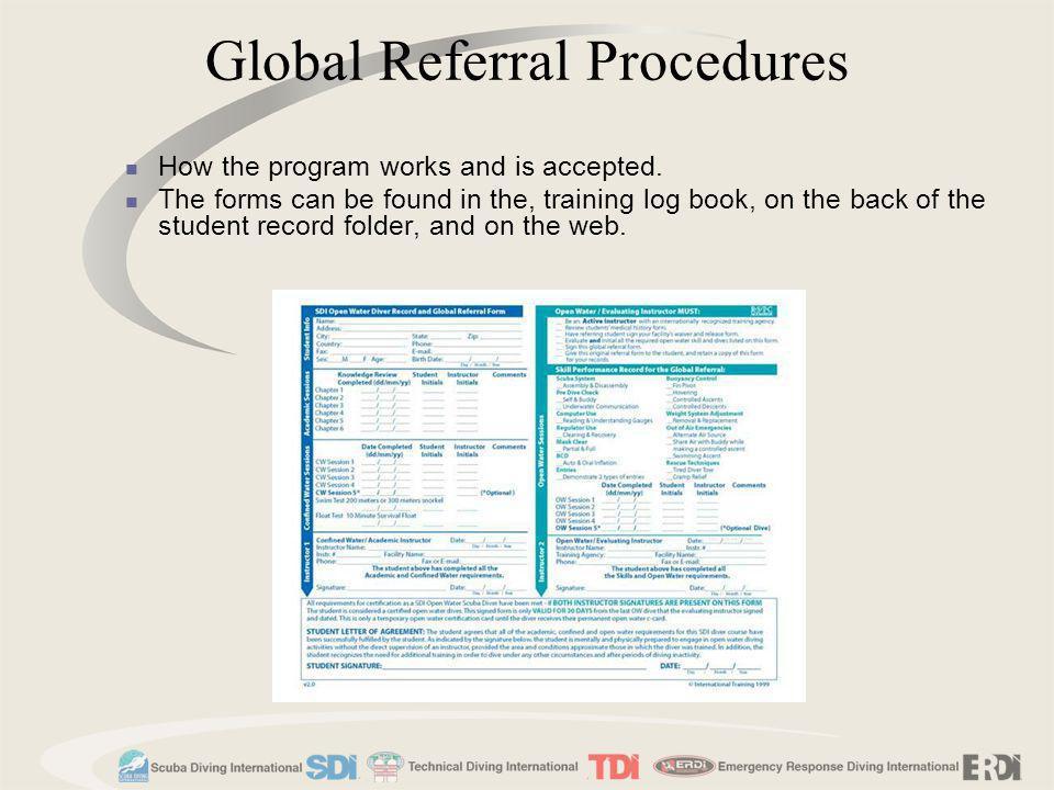 Global Referral Procedures