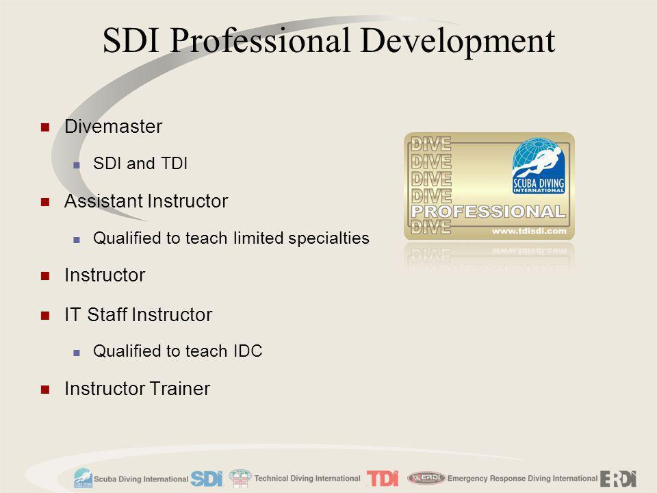 SDI Professional Development