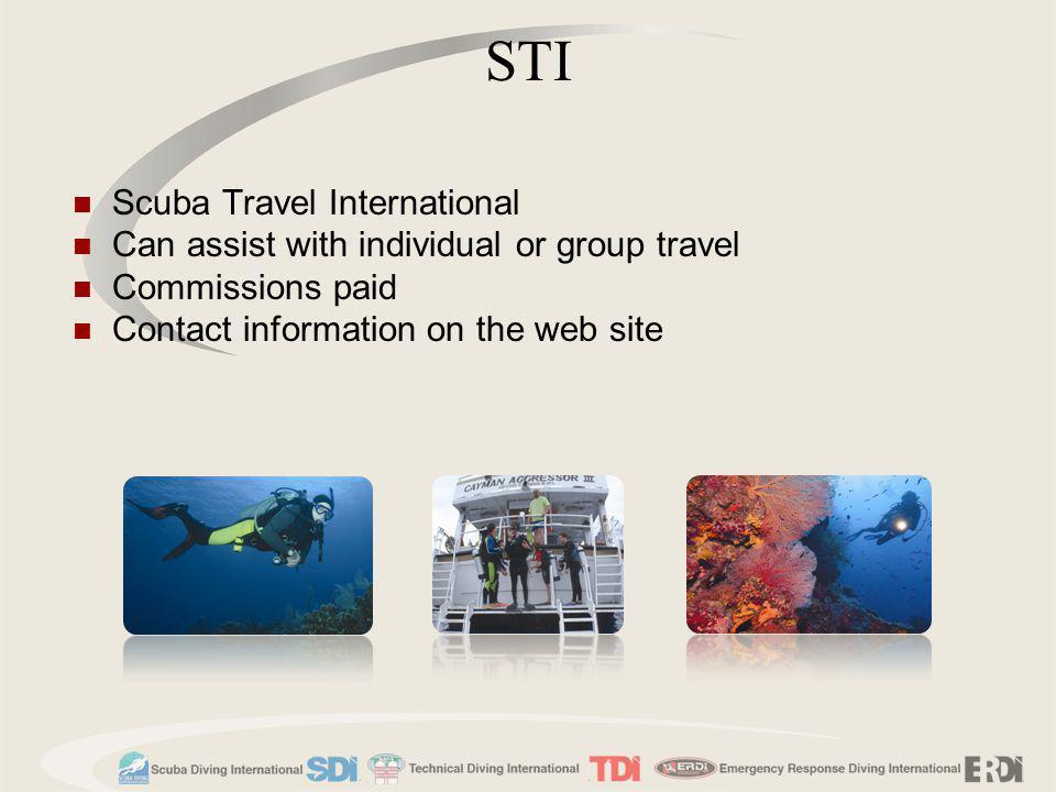 STI Scuba Travel International