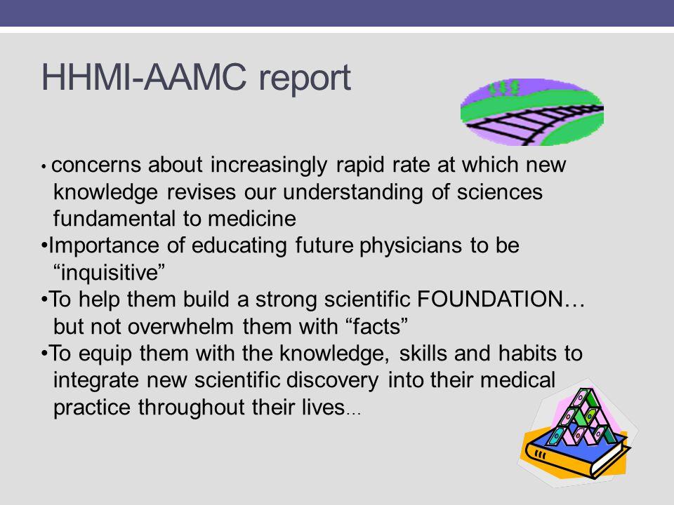 HHMI-AAMC report knowledge revises our understanding of sciences